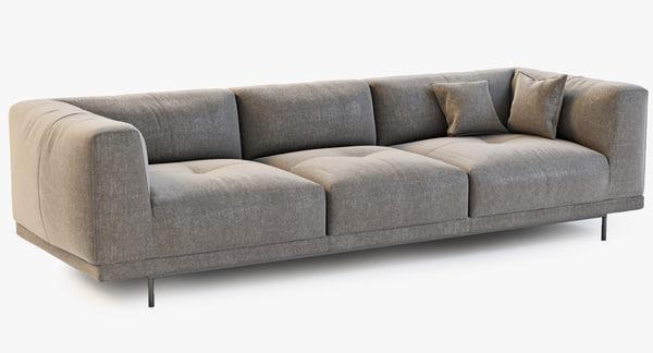 linteloo desire sofa 3d model