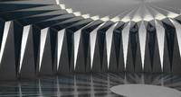 Futuristic Interior 019