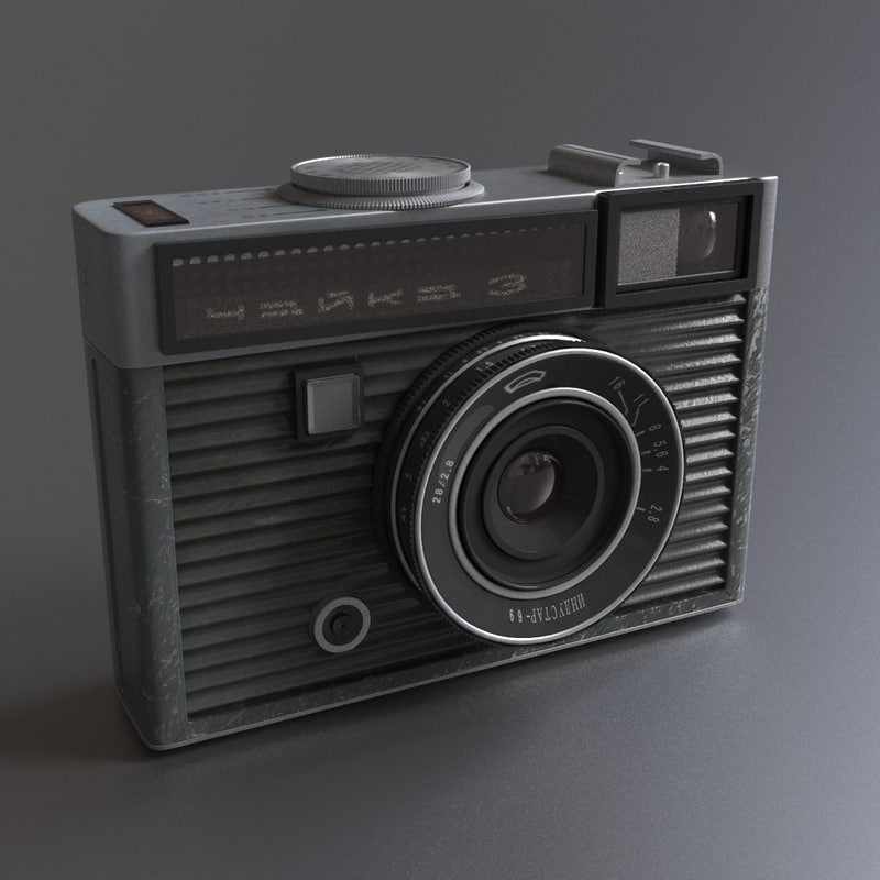 ussr camera chaika 3 3d 3ds