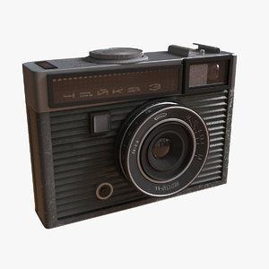 ussr camera chaika 3 3d 3ds