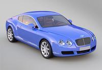 3d model car continental