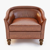 Leather Holloway Armchair