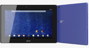 max realistic acer iconia tab