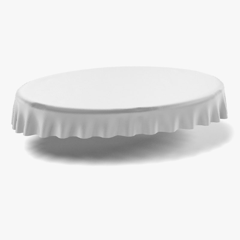 blender tableclothes oval