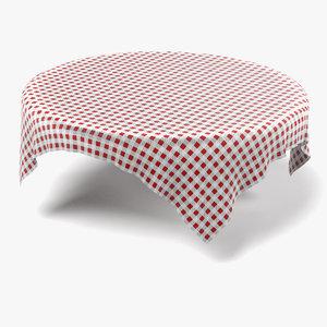 table cloth tablecloth 3d 3ds
