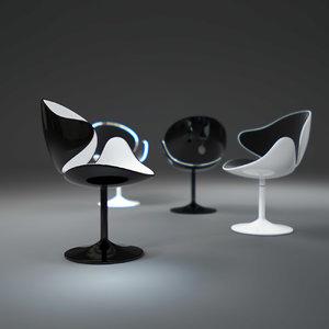 bubble-chair obj