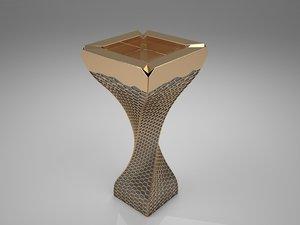 3d incense burner