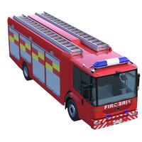 Mercedes Econic Fire Truck