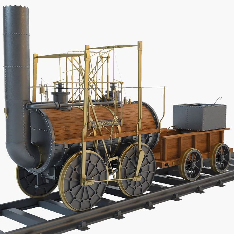 max 1825 locomotion steam train