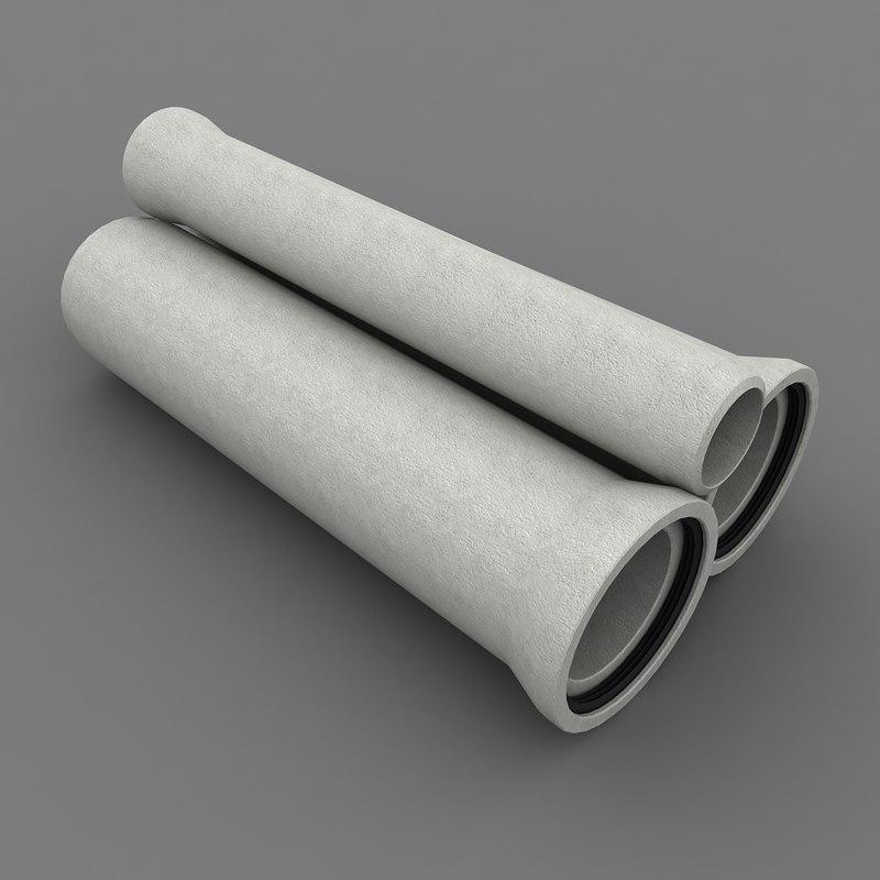 max concrete tube