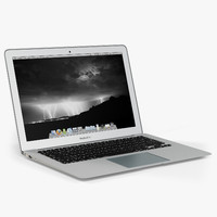 3d apple macbook air 13