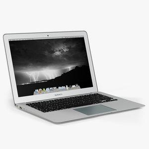 3d apple macbook air 13
