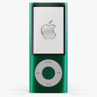 apple ipod nano 5 3d model