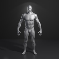 superhero man super hero 3d model