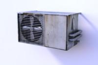 air conditioner 3d fbx