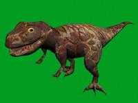 3d model of t-rex