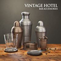 Restoration Hardware Vintage Hotel Tablewares Accessories I