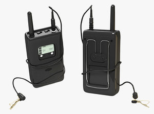 3d wireless mic
