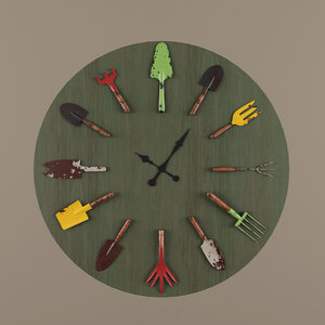 max clock garden tools
