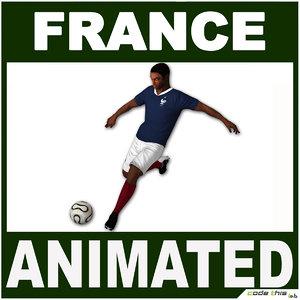 3d france jersey ball