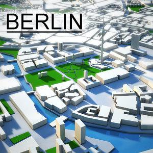 berlin city c4d