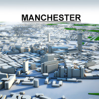 3d manchester city model