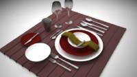 obj dinner set
