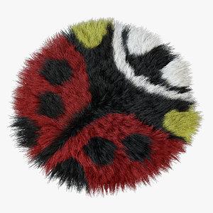 rug ladybug max