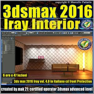 3ds max 2016 Iray Interior  Volume 4.0 Cd Front