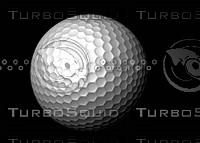 Golf Ball High Poly High Resolution