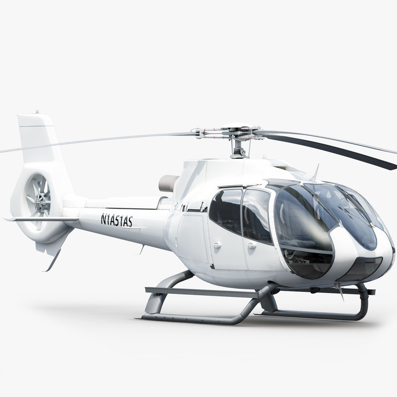 eurocopter h 130 3d max