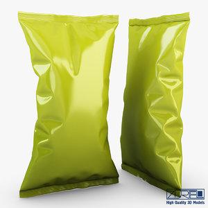 food packaging v 5 3d max