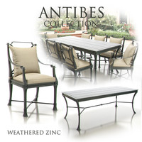 Restoration Hardware - Antibes Collection (Weathered Zinc)