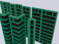 3d formwork form model