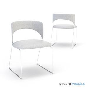 3d duffy chair
