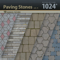Paving Stones Textures 1024x1024 vol.4