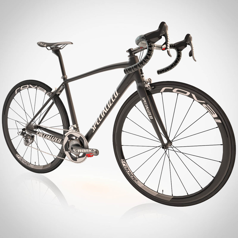 3d model specialized bicycle