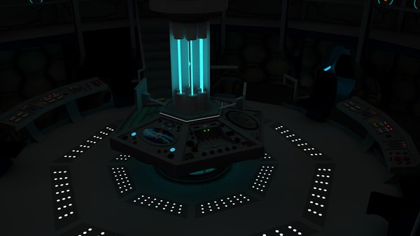 interior tardis 3d 3ds
