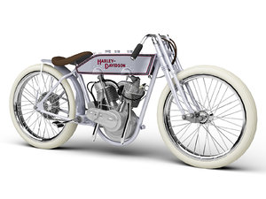 3d model harley-davidson 11k boardtrack 1915
