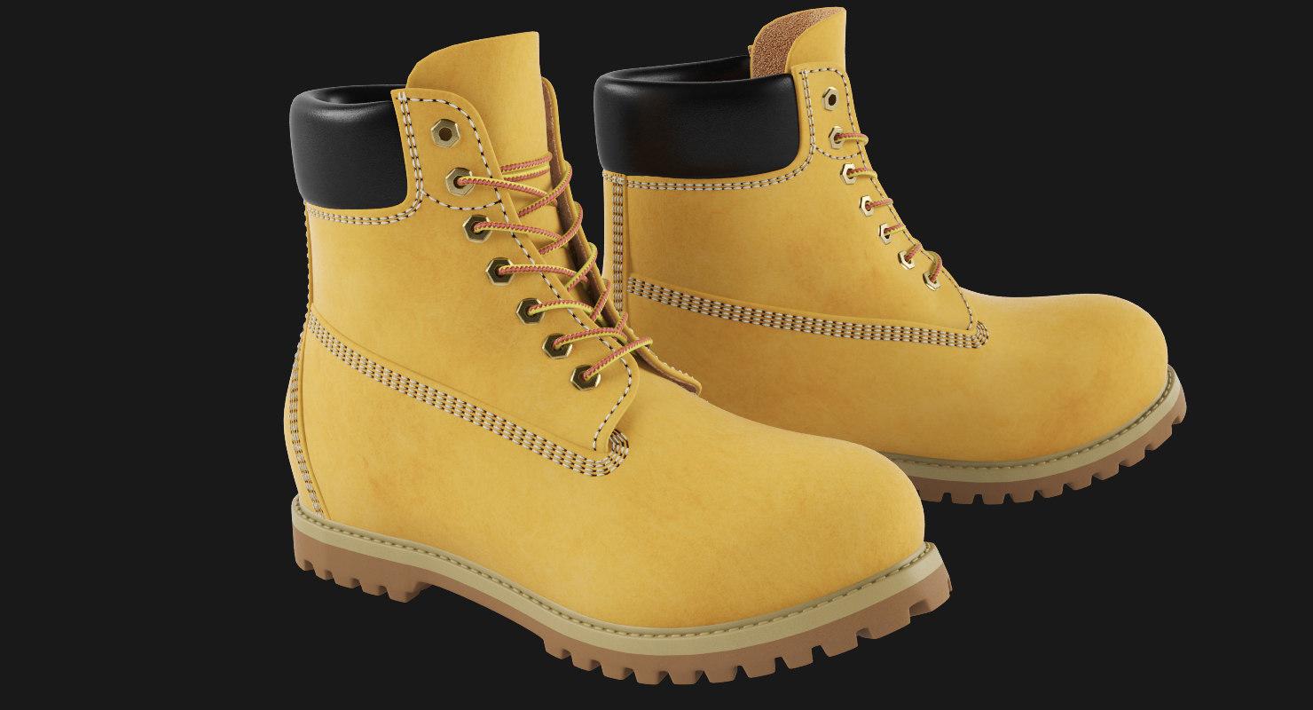 3d men 6-inch boot