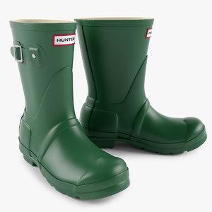 rain boot 3d model