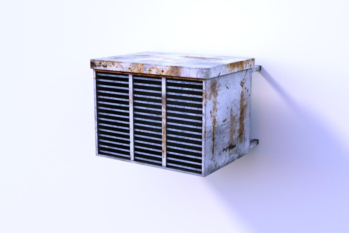 3dsmax air conditioner