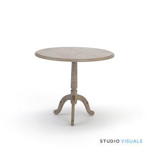 3d monroe table model