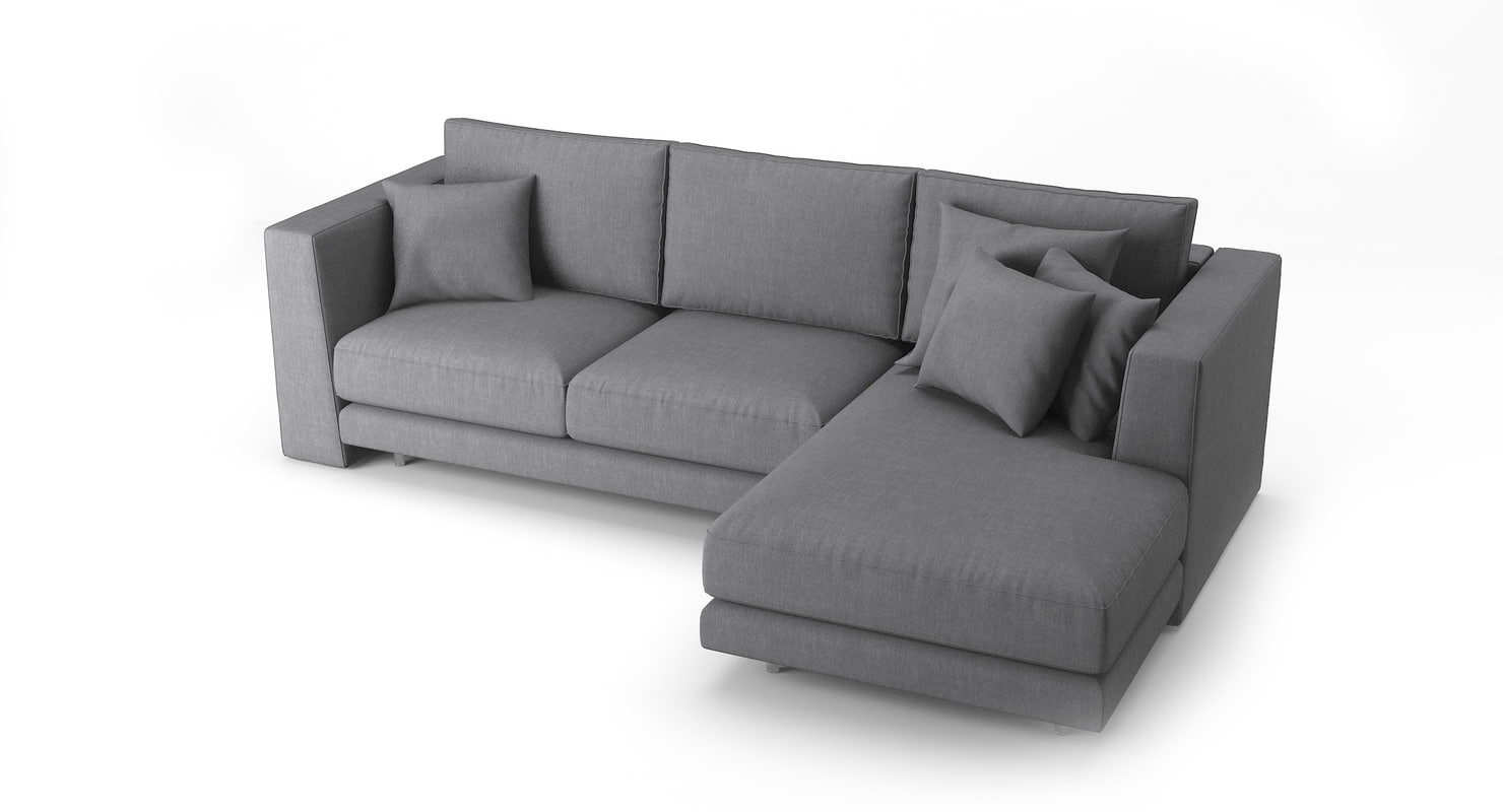 3d model bodema barclay sofa