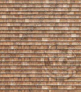 Cedar shakes siding roof texture