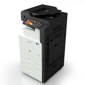 3d samsung clx printer model