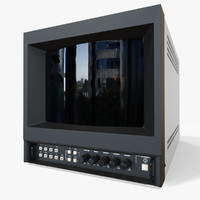 3d old trinitron tv