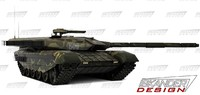 3d model iskander-3m armata russian battle