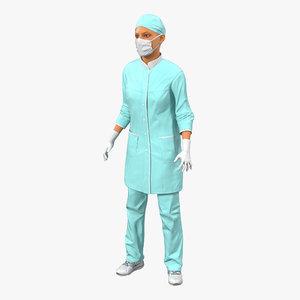 female surgeon mediterranean rigged max