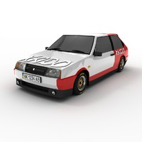 lada vaz 2108 racing 3d 3ds